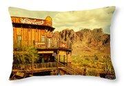 Petersons Mercantile  Throw Pillow