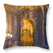 Petite Palais Twilight Throw Pillow