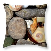 Petoskey Stones Ll Throw Pillow