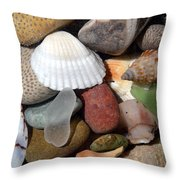 Petoskey Stones Lv Throw Pillow