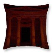 Petra A Light Throw Pillow