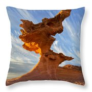 Petrifin Throw Pillow