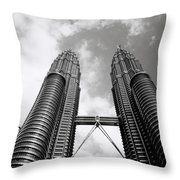 Petronas Vertigo Throw Pillow
