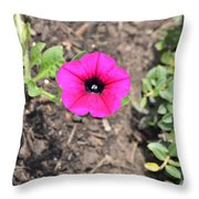 Petun Throw Pillow