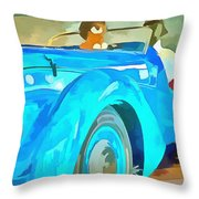 Peugeot Darl'mat Throw Pillow