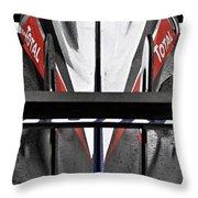 Peugeot Endurance Racing Car Throw Pillow