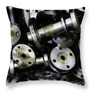 Pewterized Throw Pillow