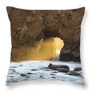 Pfeiffer At Sunset Throw Pillow