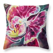 Phalaenopsis I Throw Pillow