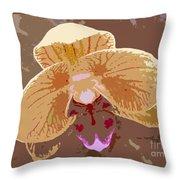 Phalaenopsis Synopsis Throw Pillow