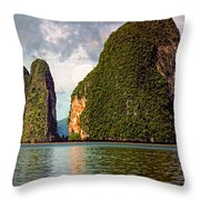 Phang Nga Bay Throw Pillow
