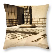 Phantom Fences2 Throw Pillow