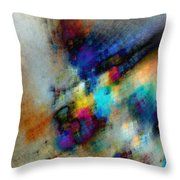 Phantom Lik Throw Pillow