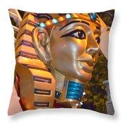 Pharaoh's Canoe Throw Pillow