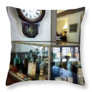 Pharmacist - Corner Drug Store Throw Pillow