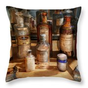 Pharmacist - Digestable Throw Pillow