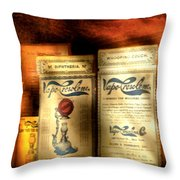 Pharmacist - Medical Cures Throw Pillow