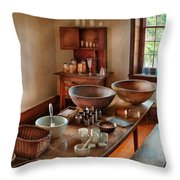 Pharmacist - Shaker Pharmacist Throw Pillow by Mike Savad