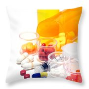 Pharmacopoeia  Throw Pillow by Olivier Le Queinec