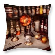 Pharmacy - Items From The Specialist Throw Pillow