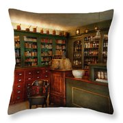 Pharmacy - Patent Medicine  Throw Pillow