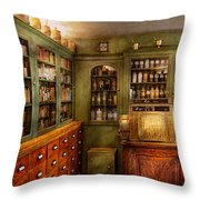 Pharmacy - Room - The Dispensary Throw Pillow