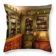 Pharmacy - Room - The Dispensary Throw Pillow