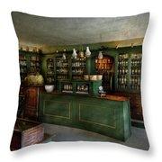 Pharmacy - The Chemist Shop  Throw Pillow