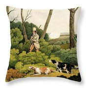 Pheasant Shootin Throw Pillow