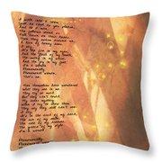 Phenomenal Woman Throw Pillow