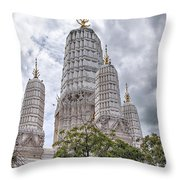 Phetchaburi Temple 17 Throw Pillow