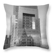 Philadelphia Comcast Building Throw Pillow