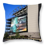 Philadelphia Eagles - Lincoln Financial Field Throw Pillow