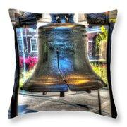 Philadelphia Liberty Bell 1 Throw Pillow