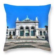Philadelphia Memorial Hall Please Touch Museum Throw Pillow