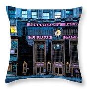 Philadelphia Suburban Station Throw Pillow