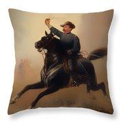 Philip Henry Sheridan Throw Pillow