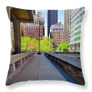 Philly Throw Pillow