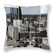 Philly Squared Throw Pillow