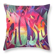 Phish The Mother Ship Throw Pillow