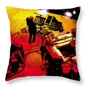 Phishin At Madison Square Garden One Throw Pillow