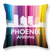 Phoenix Az 2 Throw Pillow