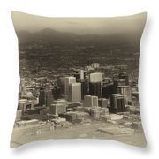 Phoenix Az Downtown 2014 Heirloom Throw Pillow