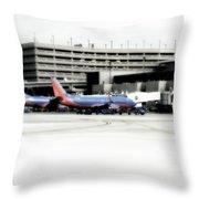 Phoenix Az Southwest Planes Throw Pillow