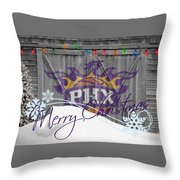 Phoenix Suns Throw Pillow