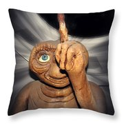 Phoning Home Throw Pillow