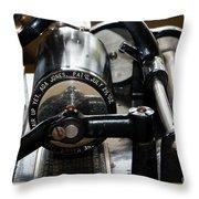 Phonograph Recording Cylinder Throw Pillow