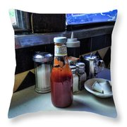 Country Diner Throw Pillow