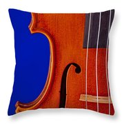 Photograph Of A Viola Violin Side In Color 3372.02 Throw Pillow