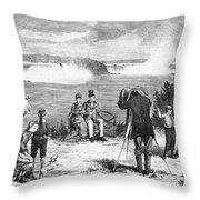Photographer, 1877 Throw Pillow